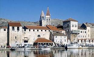 Trogir city is a major tourist attraction