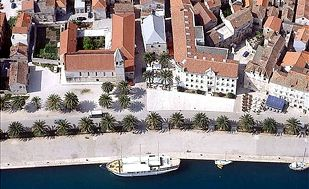 Vacation in an ancient city of Trogir